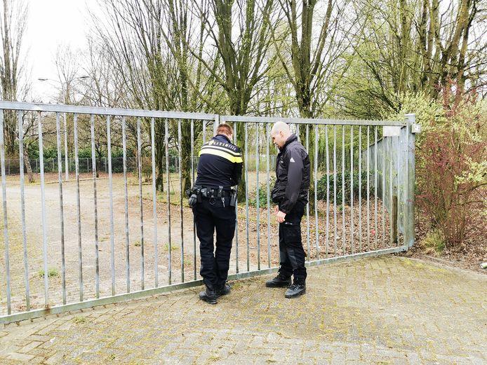 De politie doet onderzoek naar de diefstal van koper in Nijmegen.
