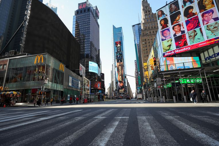 New York, VS. Beeld Getty