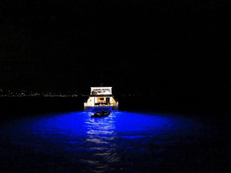 Onderwaterverlichting Beeld Noël van Bemmel