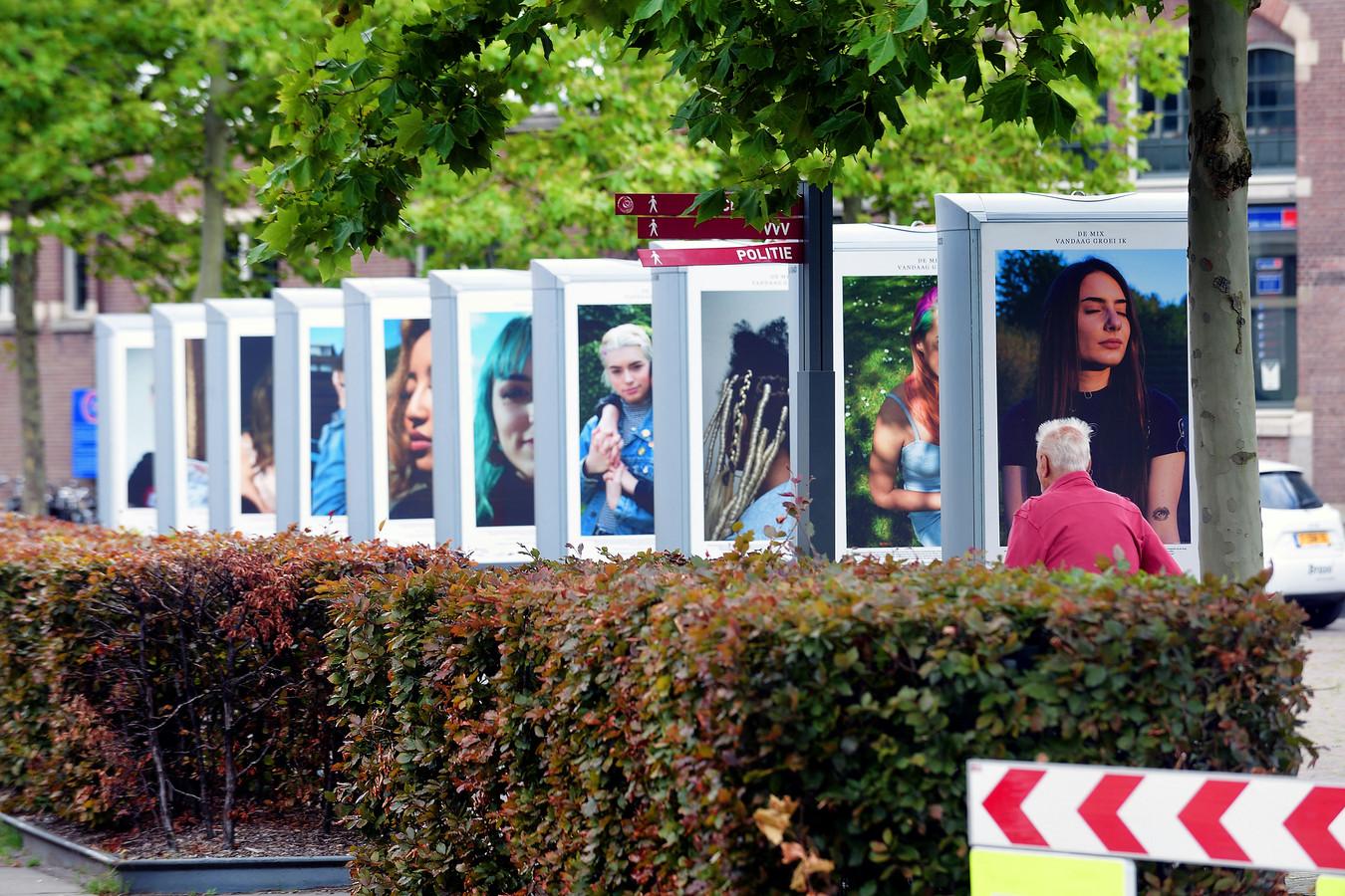 De expositie 'Hier groei ik' van Isa de Jong.