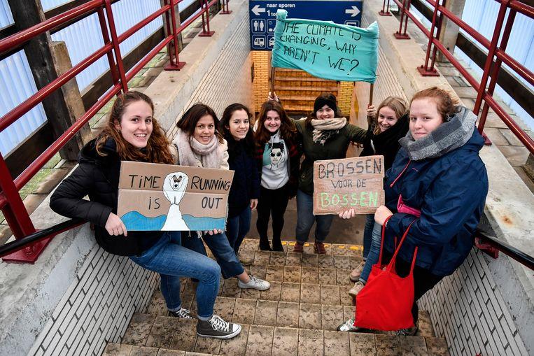 Jongeren uit Dendermonde trokken eerder al naar Brussel om te spijbelen voor het klimaat. Vrijdag kunnen ze zich laten horen in eigen stad.