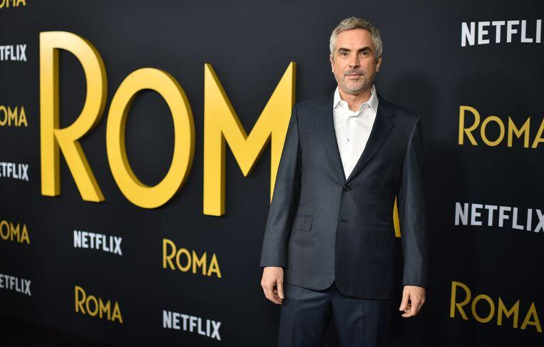 De Mexicaanse regisseur Alfonso Cuarón won met Roma een Golden Globe voor beste buitenlandse film. 'Girl', de film van regisseur Lukas Dhont, viel daarmee buiten de prijzen.