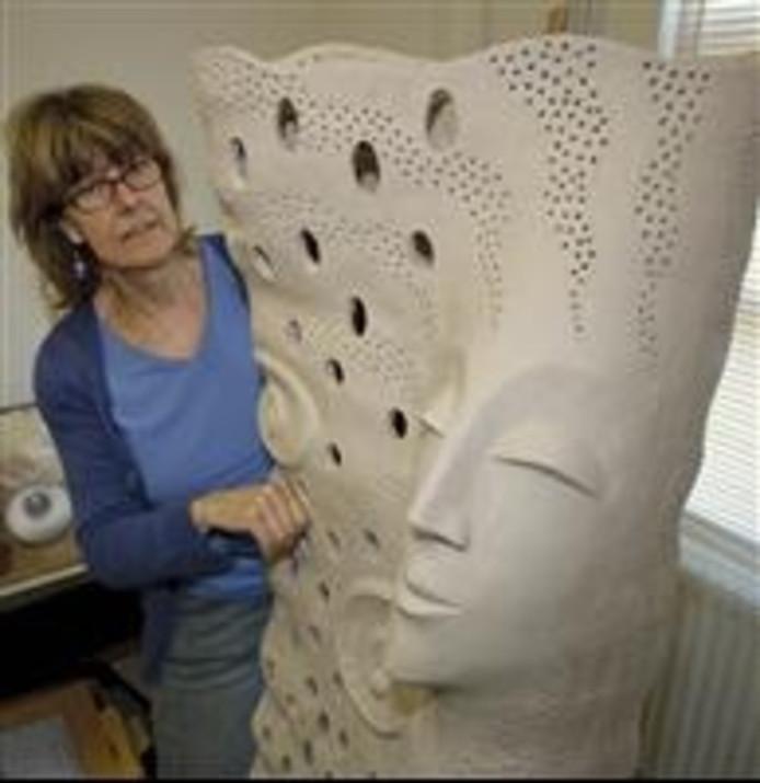 Erna Futselaar is een van de deelnemende kunstenaars