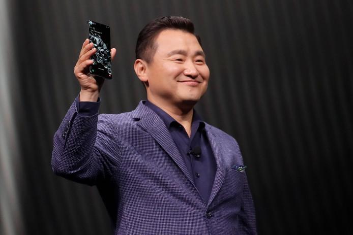 Le Samsung Galaxy S20 Ultra 5G.