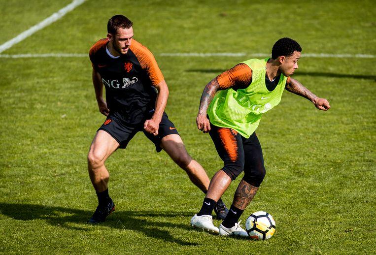Stefan de Vrij: 'Ik denk dat het voor het Nederlandse voetbal goed is, als spelers bij grote clubs spelen.' Beeld ANP