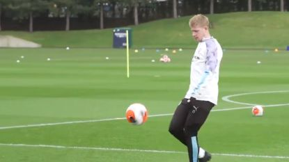 Kevin De Bruyne staat weer op trainingsveld bij Man City