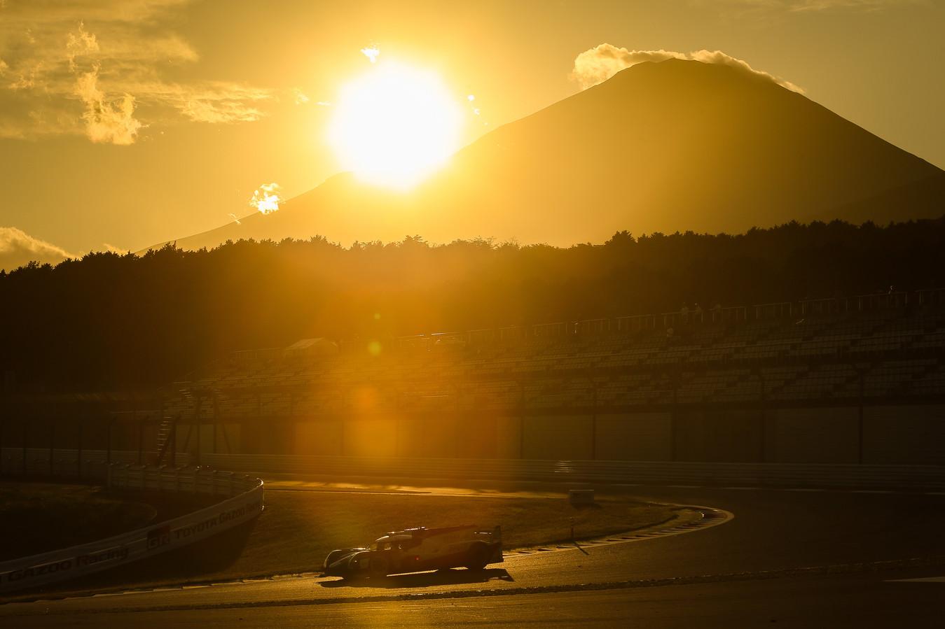 Het circuit van Fuji.