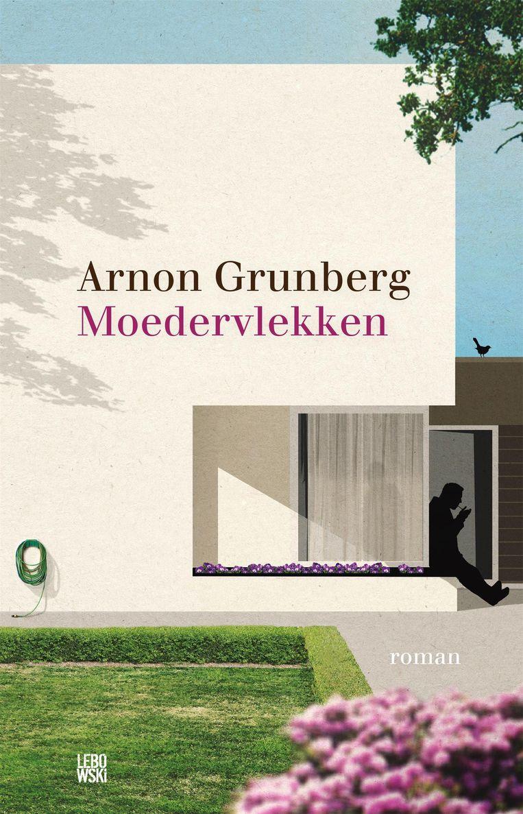 Lolies van Grunsven 'doet' de boeken van Arnon Grunberg die bij Lebowski verschijnen. Moedervlekken werd alom jubelend ontvangen. Beeld -
