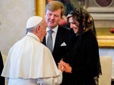 Kort, maar onvergetelijk bezoek bij de paus