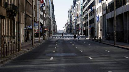 In maart was er 55 tot 75 procent minder verkeer in Brussel
