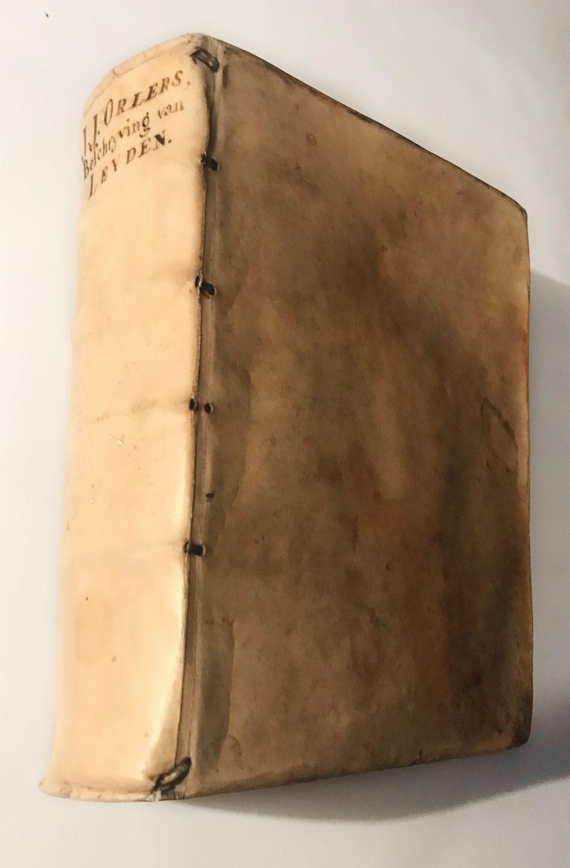 Allereerste biografische schets van Rembrandt in Beschrijvinge der Stadt Leyden van J.J. Orlers, tweede druk 1641. Beeld