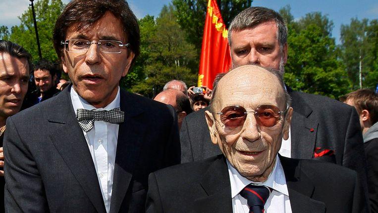 Elio Di Rupo en Paul Halter.