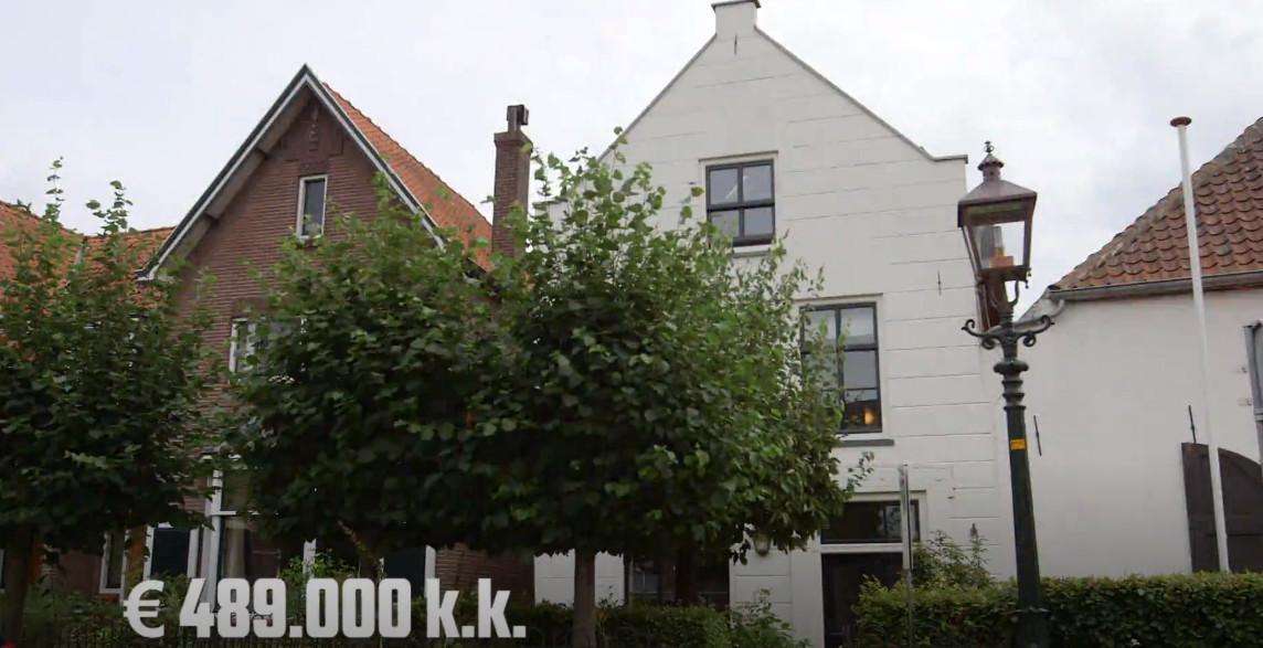 De vierkante-meterprijs van het huis in Buren ligt 56 procent lager dan in Amsterdam-Noord.