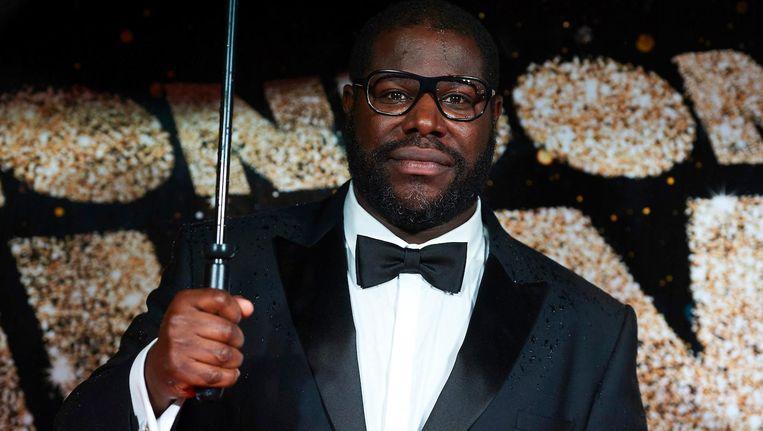 McQueen vorige maand tijdens het BFI London Film Festival Awards Beeld anp