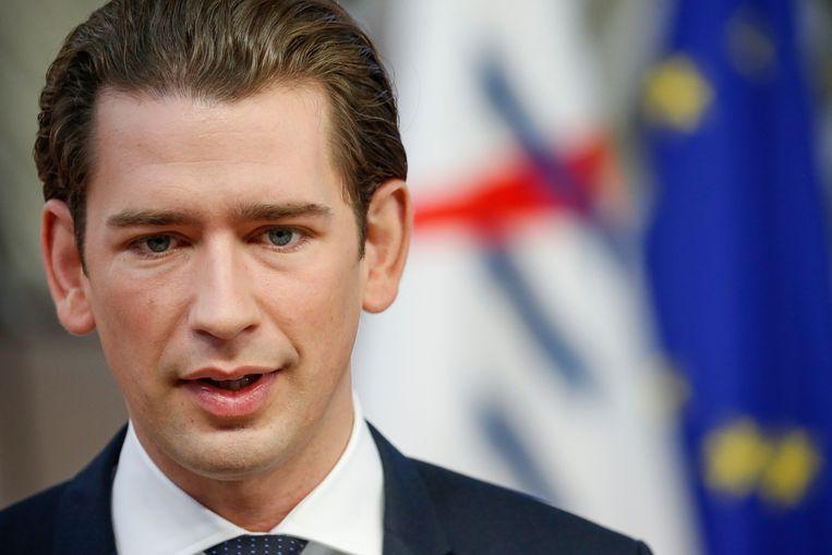 Oostenrijks bondskanselier Sebastian Kurz
