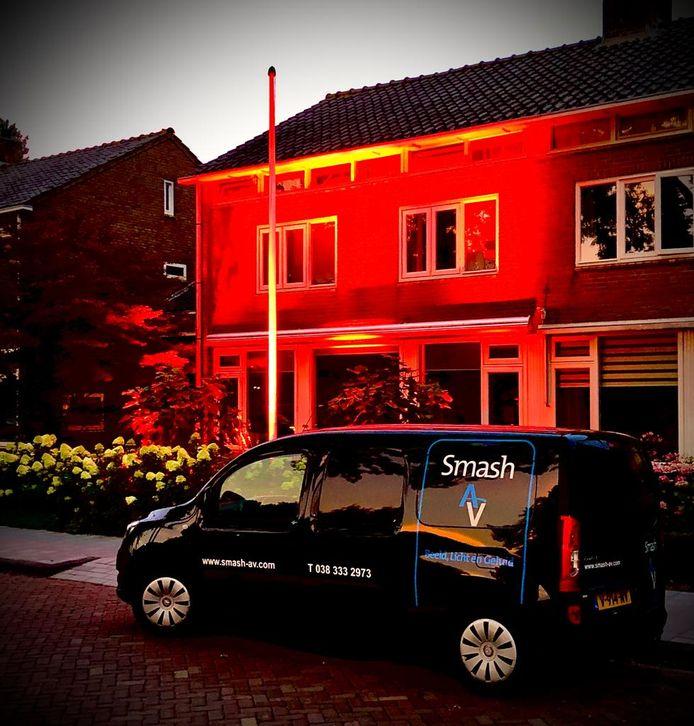 Huis van Smash-eigenaar Siep Kiers in Dronten.