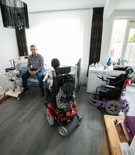 Etten-Leurse Basmala (13) voelt zich in haar rolstoel opgesloten in huis