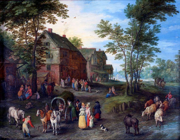 De familie Arenberg bezat een unieke kunstcollectie. Foto RV