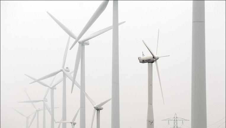 Windmolens. Beeld Joost van den Broek/de Volkskrant