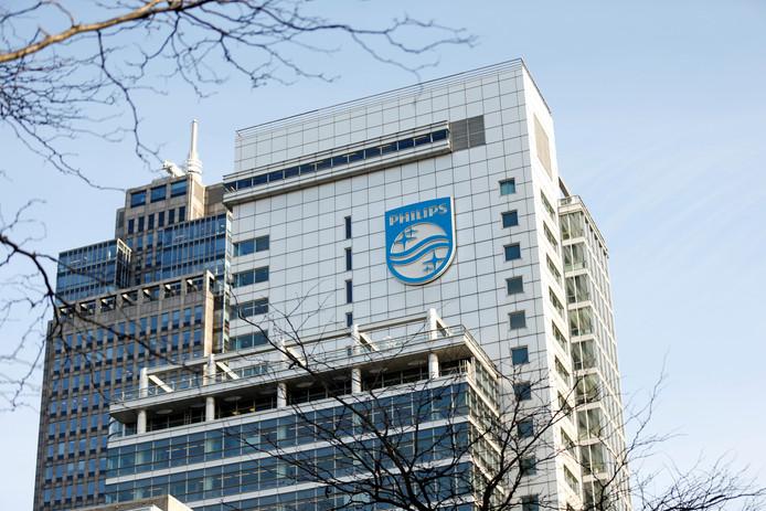 Het hoofdkantoor van Philips in Amsterdam.
