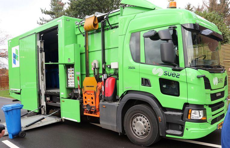 De allereerste hybirde Green Truck van McDonalds zal in Beerse rijden.