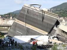 Snelwegbrug in Genua ingestort, tientallen doden