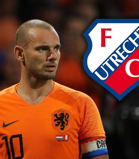 Sneijder wil nog één seizoen voetballen: dan tóch naar FC Utrecht?