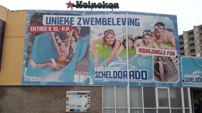 Zwemparadijs Scheldorado in Terneuzen is tot nader order gesloten.