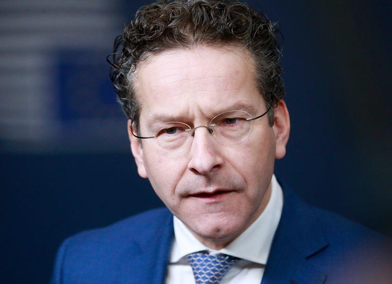 Jeroen Dijsselbloem is geschrokken van de 'ruige voorstellen' van GroenLinks, Beeld epa