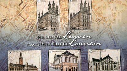 'Dubbeltje' in nieuwe postzegelcollectie over Leuven zet kwaad bloed bij filatelisten