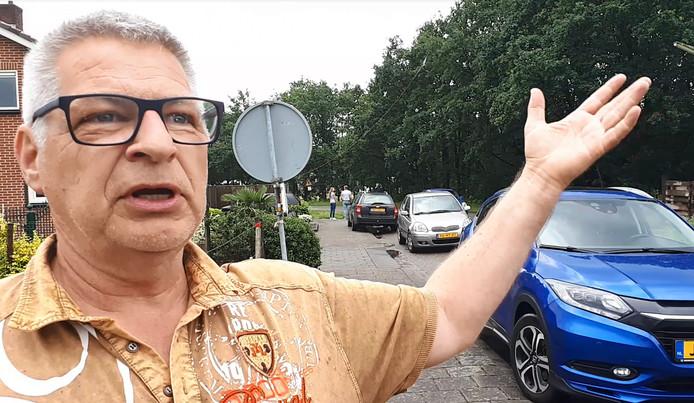 Spotter Ton de Haan uit Delft ziet vliegtuig neerstorten bij Breda Airport.