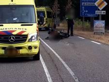 Twee gewonden na botsing tussen motor en auto in Zeeland