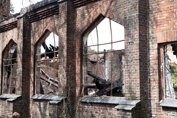 Julianakerk na de brand