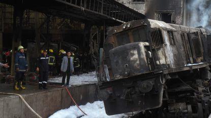 Treinramp Caïro veroorzaakt door kibbelende machinist die handrem vergat