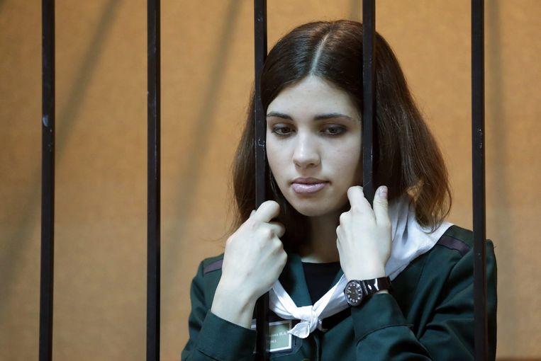 Nadezhda Tolokonnikova. Beeld epa