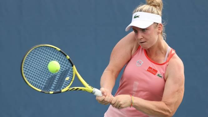 Ysaline Bonaventure sneuvelt in tweede ronde US Open