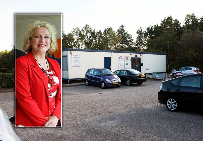 Anastasia van der Lugt bij de kinderopvangbedrijf aan de Televisiebaan in IJsselstein