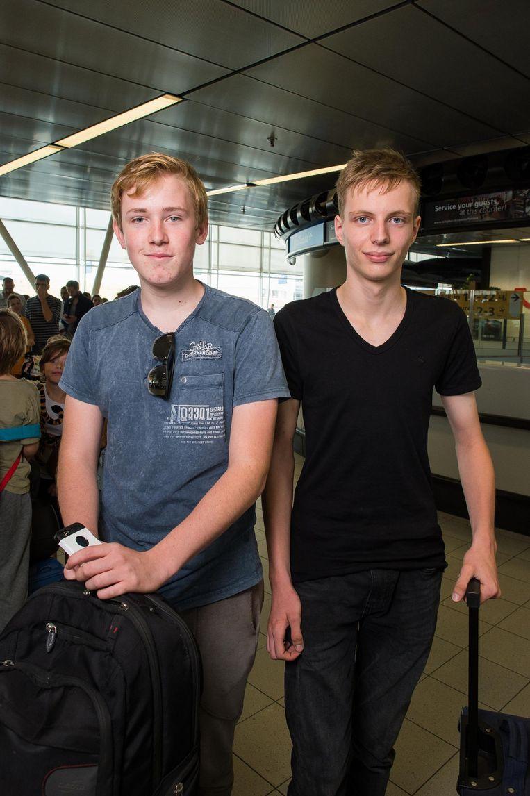 Frank van Breukelen en Jamie Zwarts Beeld Mats van Soolingen