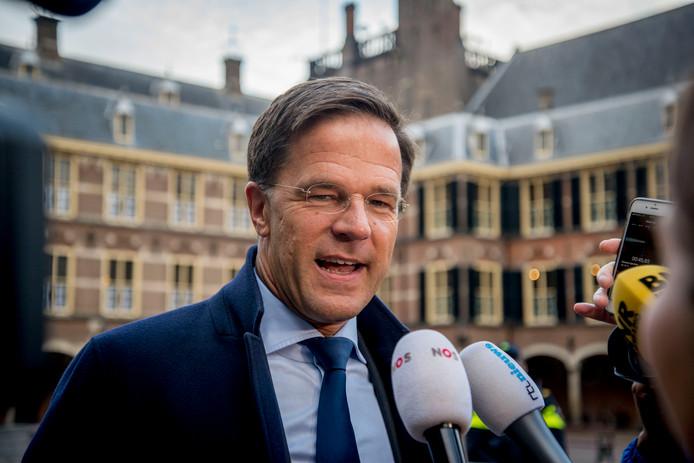 Mark Rutte (VVD) op het Binnenhof