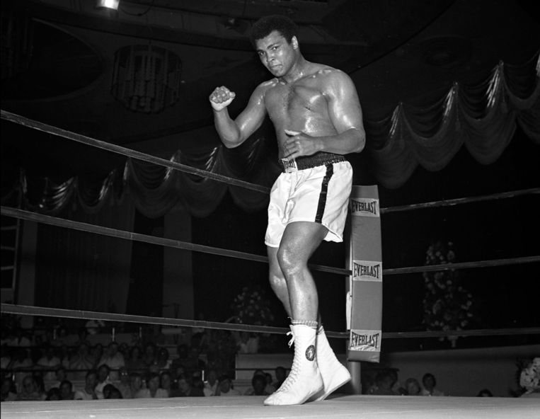 Ali in Las Vegas. Beeld epa