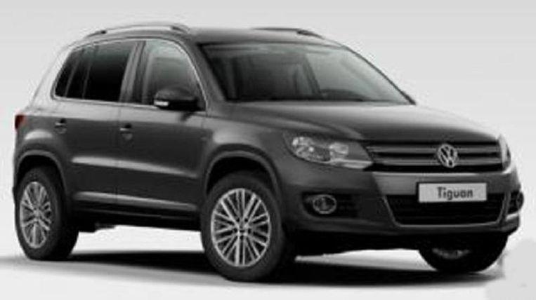 De bende richtte zich op Volkswagen Tiguans
