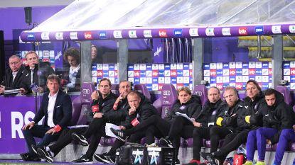 Minder assistenten op de bank van Anderlecht