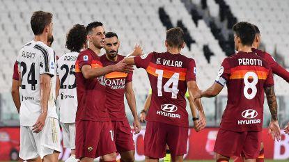 Einde in mineur voor kampioen Juventus: Roma neemt drie punten mee uit Turijn