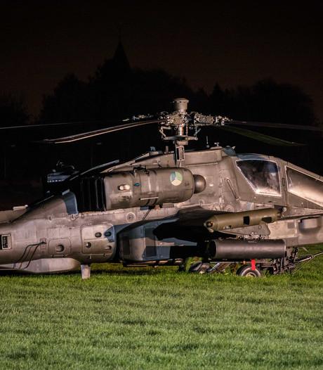 Marechaussee begint onderzoek naar helikopterongeluk