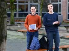 Xander en Jesse waarschuwen voor de gevaren van internet: 'Leuker dan vakken vullen'