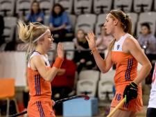 Zwinkels en Van Wijk schieten Oranje naar WK-finale zaalhockey