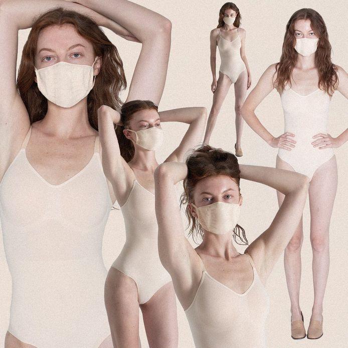 """La gamme de masques en tissu """"Skims""""."""