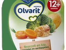 Geen aardappelen, kip en wortel maar spaghetti bolognese in Olvarit babyvoeding
