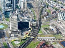 Rotterdam bouwt nieuwe wijk langs en boven het spoor