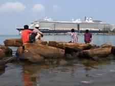 Le bateau Westerdam a quitté le Cambodge